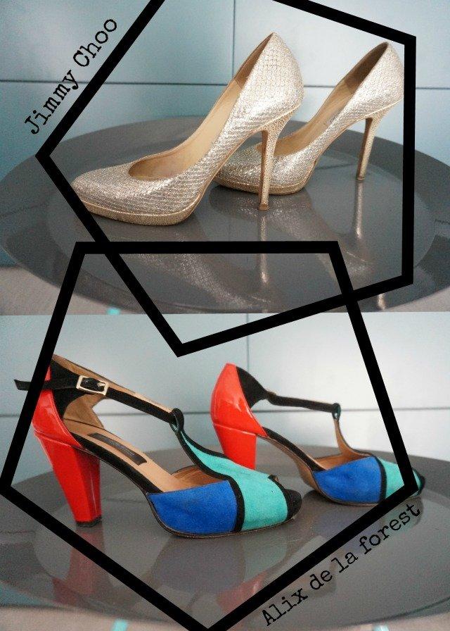 Chaussures préférées : Jimmy Choo + Alix de la Forest par Cécile de withalovelikethat.fr