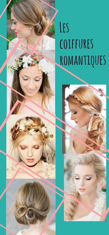 Idées coiffures mariage romantiques / des idées de coiffures pour la mariée ou ses invitées sur withalovelikethat.fr