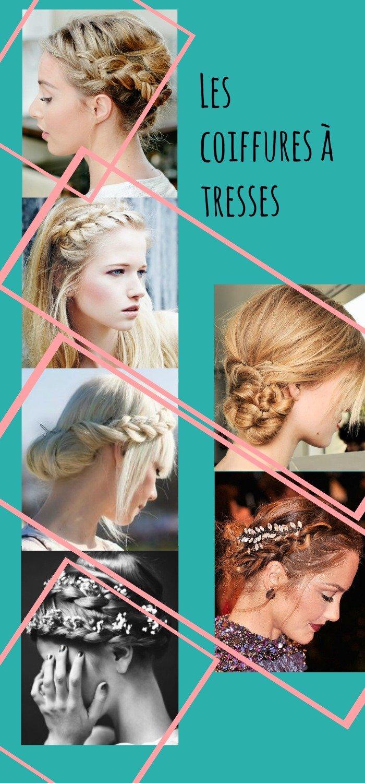 Idées coiffures mariage à tresses / des idées de coiffures pour la mariée ou ses invitées sur withalovelikethat.fr