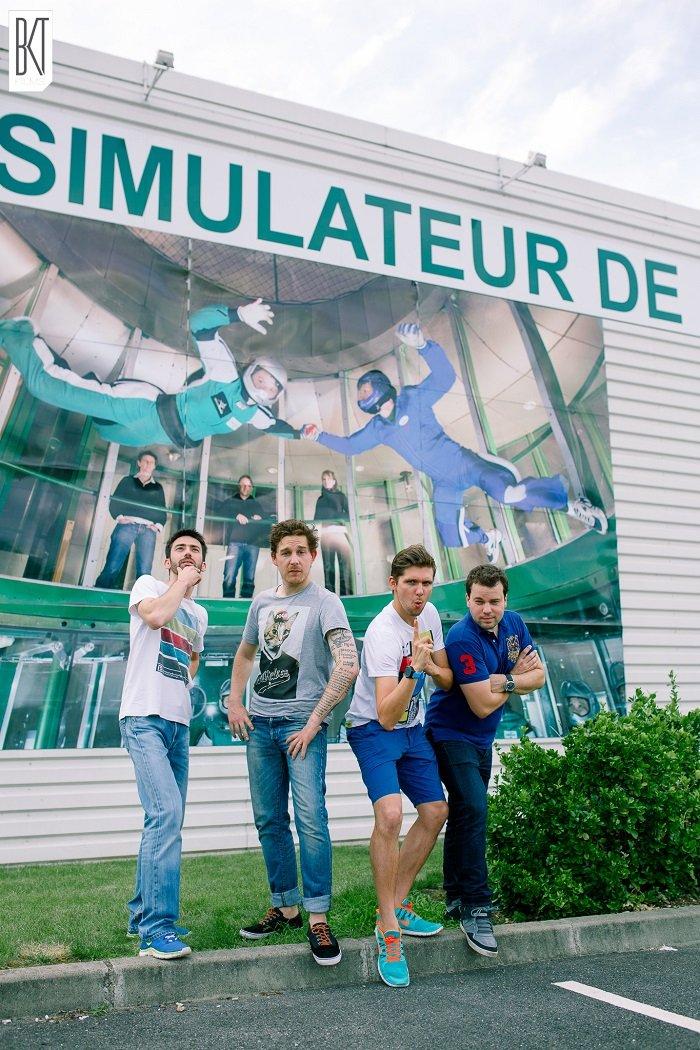 L'Aerokart selon les spycats pour un test d'EVJF ou EVG / photos et films bkt films / + sur withalovelikethat.fr