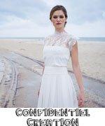 Confidentiel création / créatrice robe de mariée / coup de coeur withalovelikethat.fr