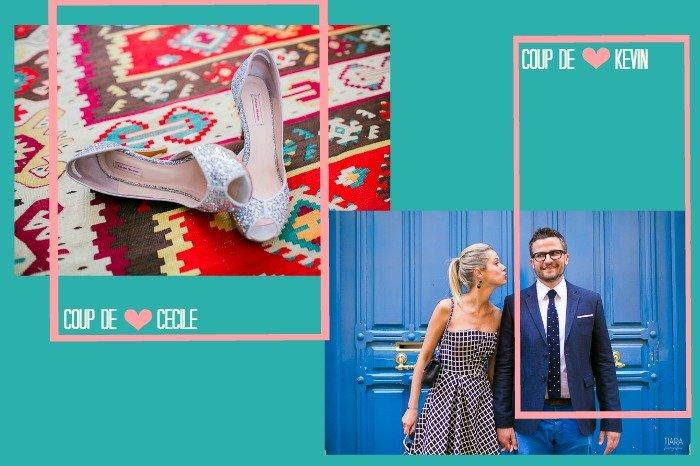 Nos coups de coeur pour ce joli mariage civil / photographe Tiara photography / + sur withalovelikethat.fr