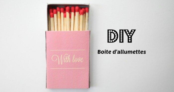 diy boite dallumettes - Allumettes Personnalises Mariage