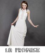 La promise / créatrice robe de mariée / coup de coeur withalovelikethat.fr