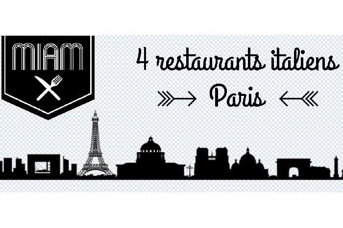 4 restaurants italiens à Paris