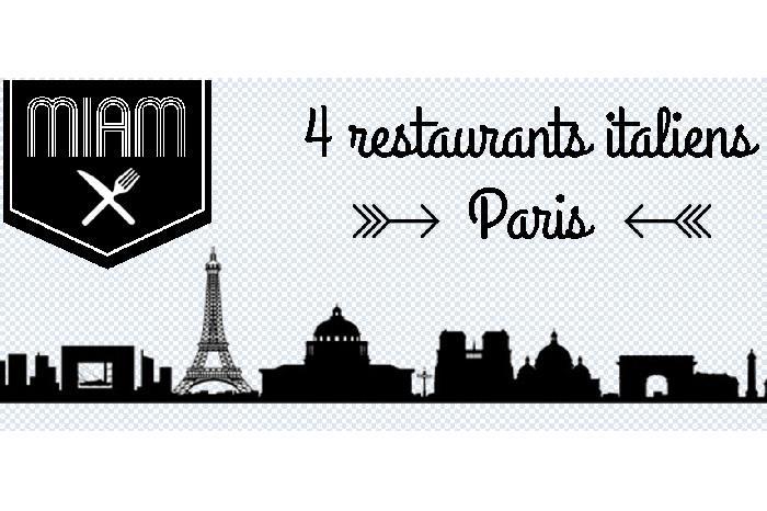 4 restos italiens que nous adorons à Paris / + sur withalovelikethat.fr
