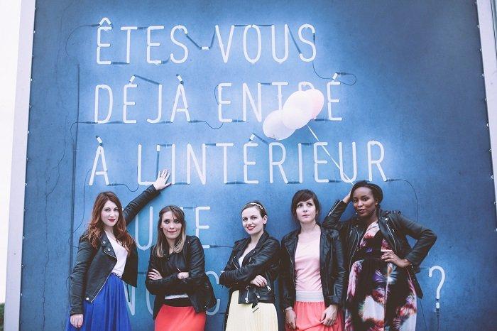 Séance photo pour EVJF avec Epouse moi Cocottes / les spycats : testeuses d'enterrement de vie de jeune fille / + sur withalovelikethat.fr