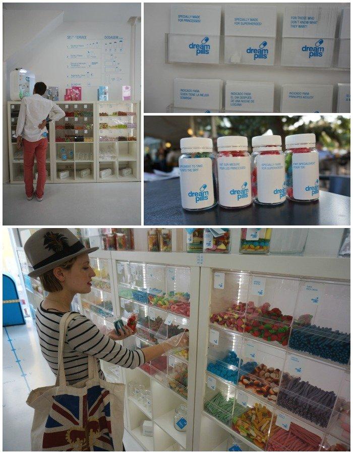 dream pills lisbonne bonbons / publié par withalovelikethat.fr