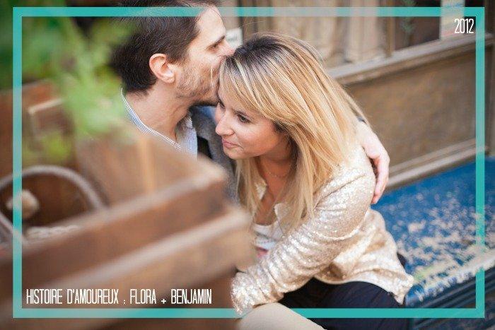Histoire d'amoureux / Flora + Benjamin / + leur histoire d'amoureux sur le blog withalovelikethat.fr