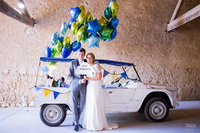 Mariage en bleu / cérémonie oecuménique / Sète, Languedoc Roussillon / publié sur le blog withalovelikethat.fr