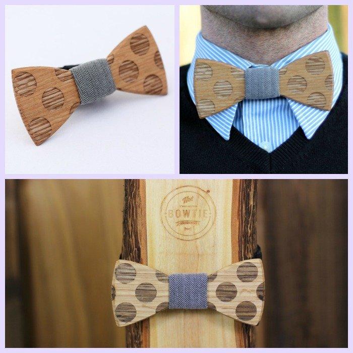 accessoire homme noeud papillon en bois / publié par withalovelikethat.fr