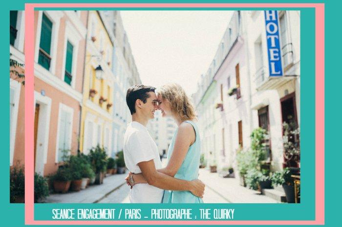 Séance photo amoureux Rue Crémieux à Paris / photographe the quirky / publié sur le blog withalovelikethat.fr