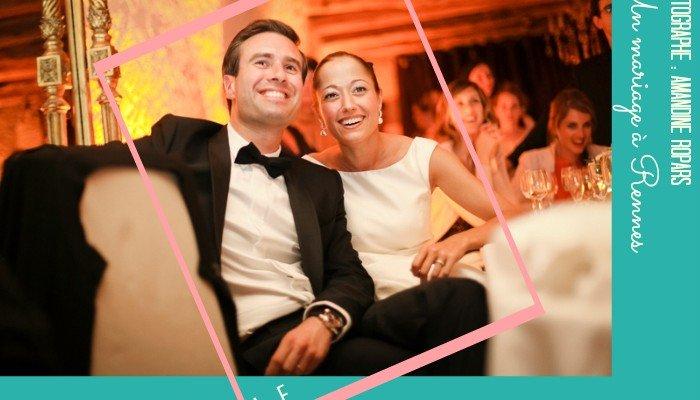La classe et l'élégance pour ce mariage à Rennes par Amandine Ropars