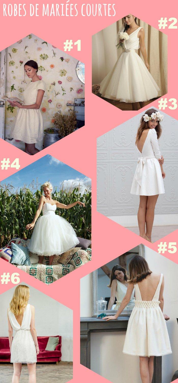 Sélection de robes de mariées courtes 2015 / sur le blog withaloveliekthat.fr
