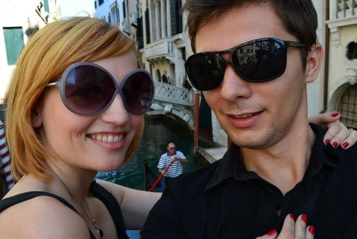 Demande en mariage à Venise
