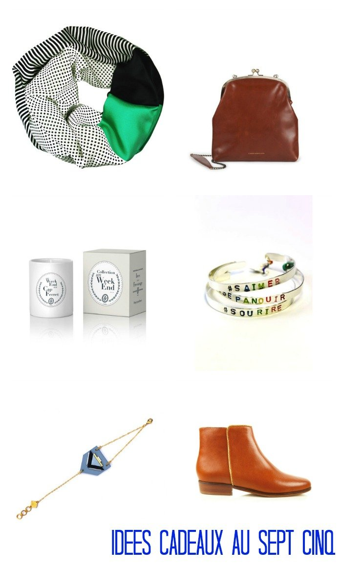 Idées cadeaux dénichés au sept cinq / 3 concept store pour faire ses cadeaux de noël sur withalovelikethat.fr