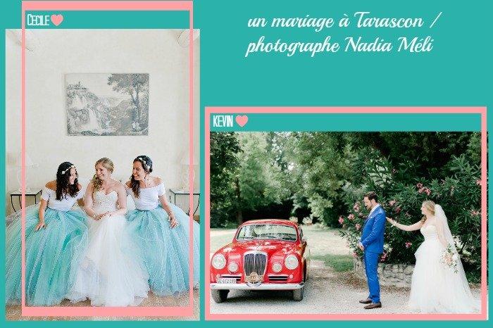 Un mariage en bleu et Mint à Tarascon / photographe nadia méli / publié sur le blog withalovelikethat.fr