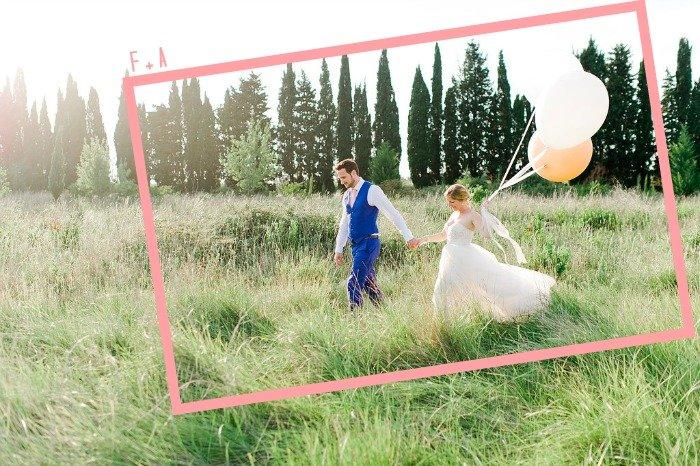Mariage au mas des comtes de provence en mint