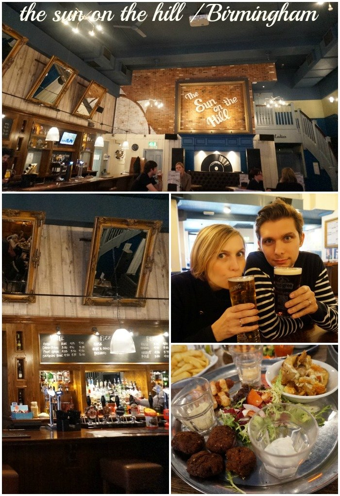 City Guide Birmingham / The sun on the hill (restaurant) / withalovelikethat.fr