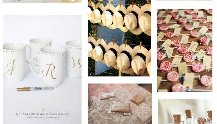 idées de cadeaux d'invités pour votre mariage