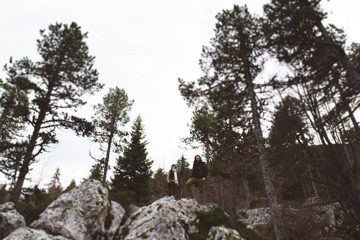 Seance engagement Mont Ventoux / photographe noeudpap / publié sur withalovelikethat.fr