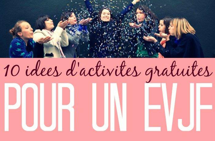 10 id es d 39 activit s gratuites pour un evjf with a love for Idees lucratives gratuites