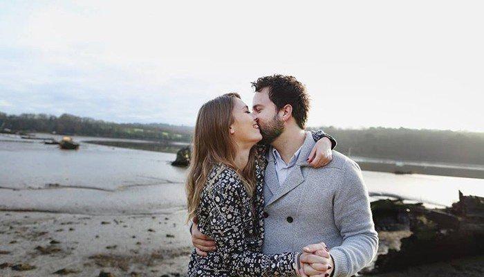 Histoire d'amoureux:  Axelle et Julien (aka Mlle bride)