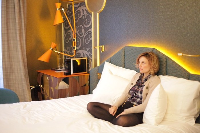 Idol h tel pour une nuit funky paris with a love like for Boutique hotel 8eme arrondissement