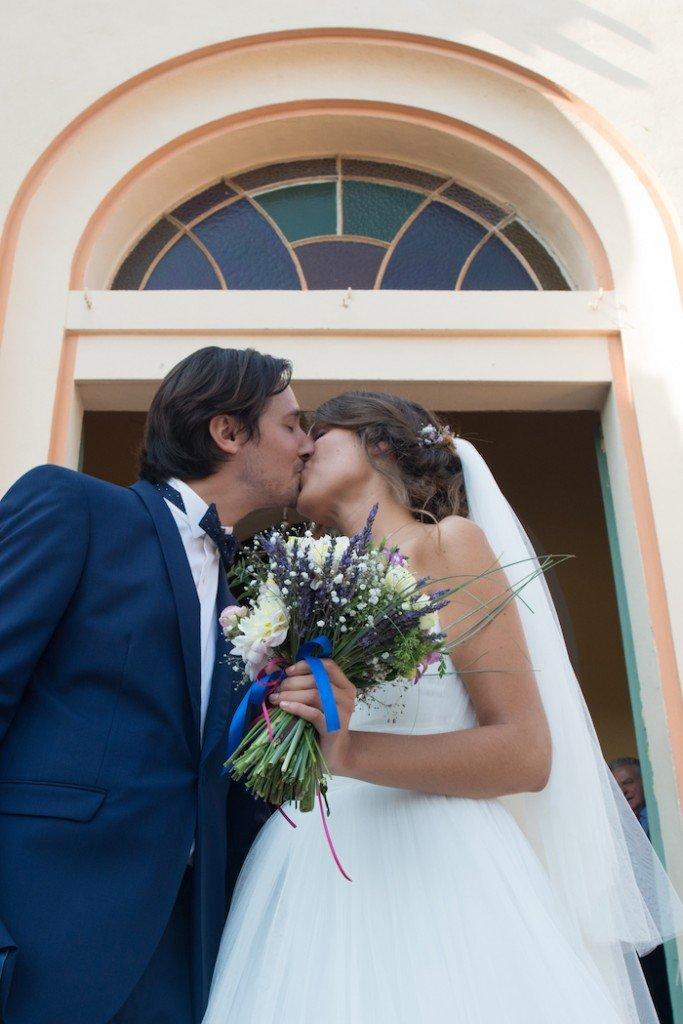 Un mariage au cap brun