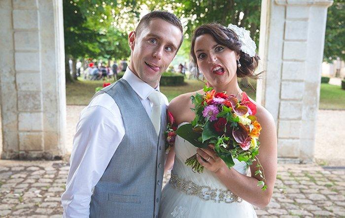 Mariage mutlicolore à bergerac / photographe mya photography / publié sur withalovelikethat.fr