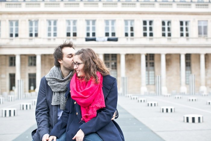 Séance engagement au Palais Royal