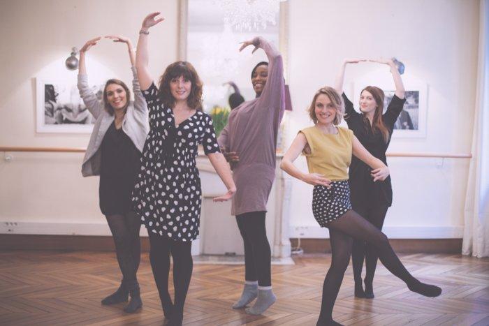 Les spycats testent le cours de danse pour EVJF chez Ludivine les salons /publié sur withalovelikethat.fr