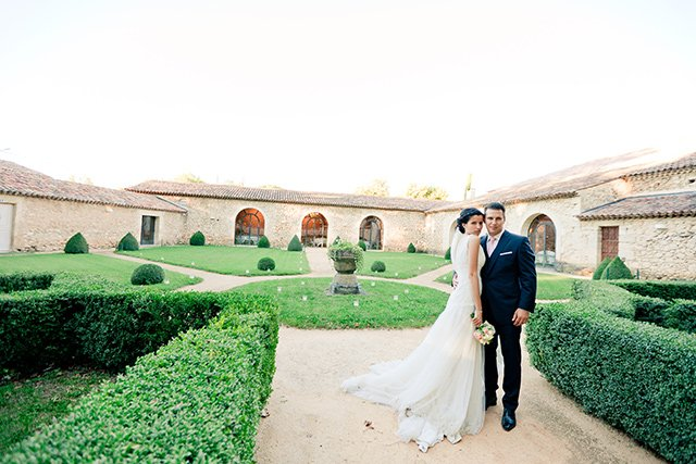 Un mariage pastel en provence