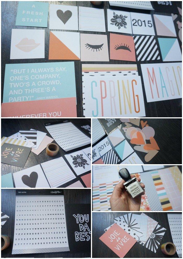 Messy box, une box de papeterie mensuelle / publié sur withalovelikethat.fr