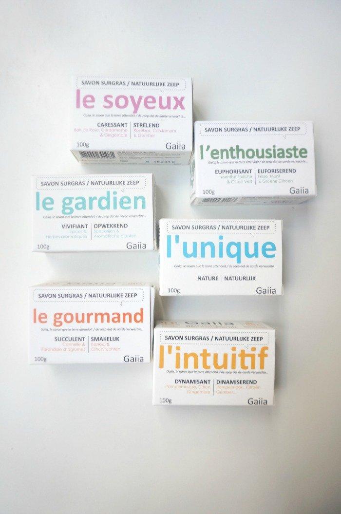 Savons gaiia / des savons saponifiés à froid / sur withalovelikethat.fr
