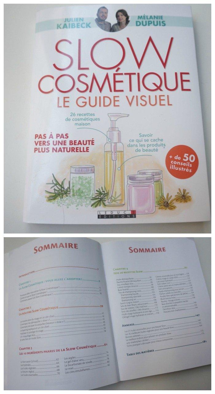 slow cosmétique le guide visuel, un livre très bien fait pour découvrir la slow cosmétique / sur withalovelikethat.fr
