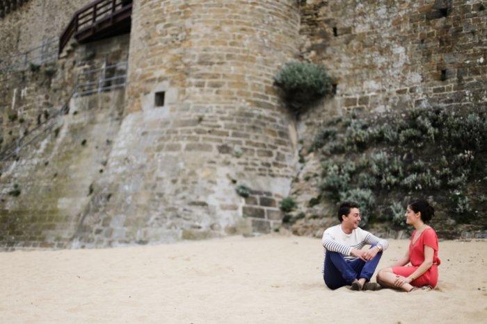 Séance engagement Bretagne / photographe Amandine Ropars / publié sur withalovelikethat.fr