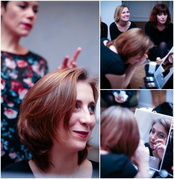 Cours maquillage atelier solidaire pour EVJF testé par les spycats / sur withalovelikethat.fr