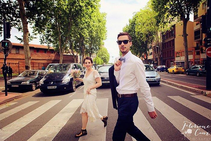 mariage cool à Toulouse