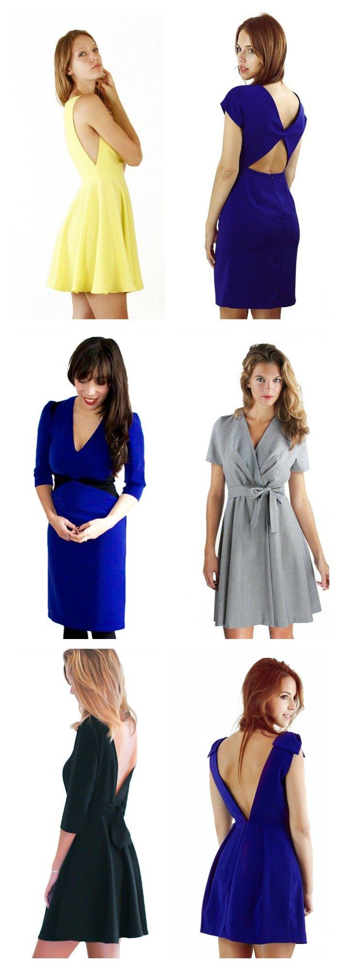 Robe semi mesure Poldine, une bonne idée pour les demoiselles d'honneur / publié sur withalovelikethat.fr