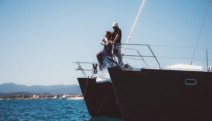 Inspiration séance engagement : la mer
