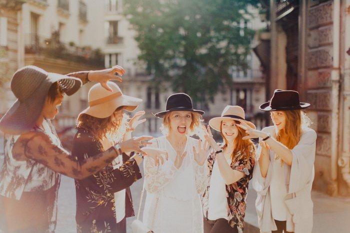 Asos habille les spycats (testeuses d'evjf) / photographe Phan Tien, Vidéo Mylène -les bandits / publié sur withalovelikethat.fr