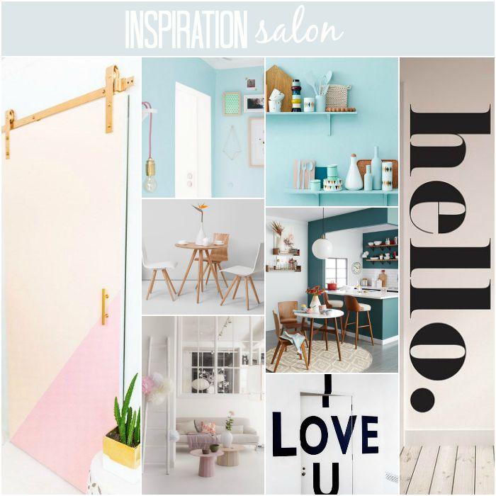Inspiration pour notre salon / par withalovelikethat.fr