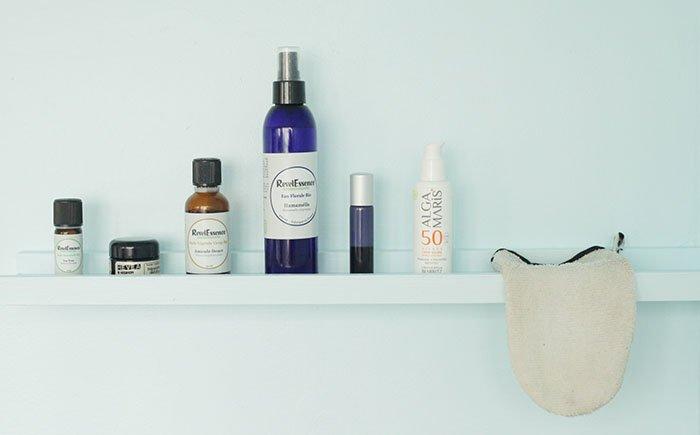 routine beauté naturelle pour peau très sensible / réactive par withalovelikethat.fr