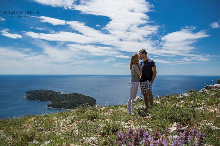 Séance engagement croatie / photographe isabelle dohin  / publié sur withalovelikethat.fr