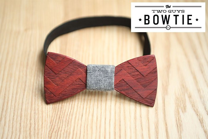 the two guys bowtie publié sur withalovelikethat.fr