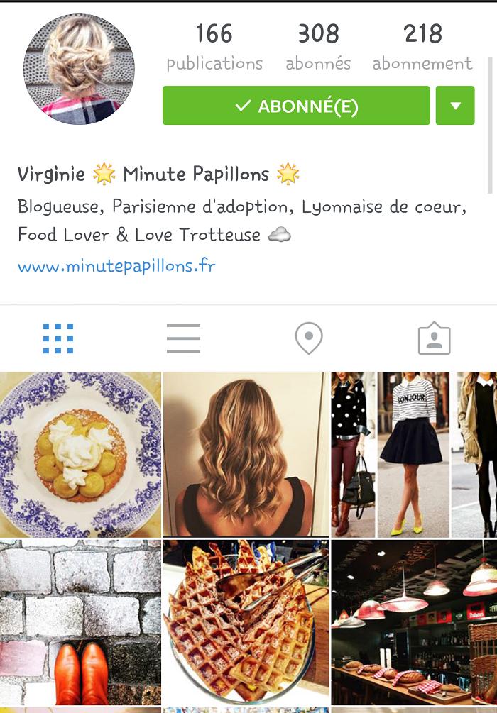 Mes comptes instagram préférés: minute papillons / retrouvez mes autres comptes instagram préférés sur le blog withalovelikethat.fr