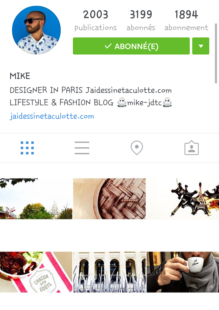 Mes comptes instagram pr f r s archives with a love like - Allo voisin mon compte ...