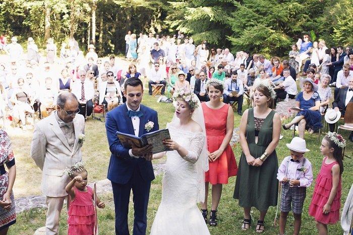 Mariage dans les bois / photographe à vos amours / publié sur withalovelikethat.fr