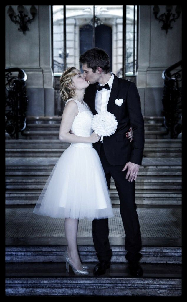 Notre mariage rétro / withalovelikethat.fr